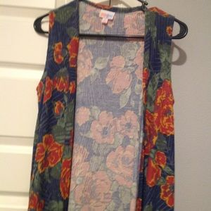 Lularoe joy vest cardigan duster size small